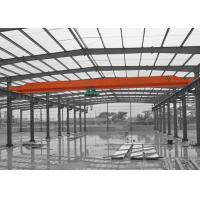 China A3 - A5 Single Girder Crane With Wire Rope Electric Hoist And Remote Control on sale