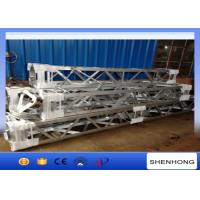 China Inner Suspended Aluminum Gin Pole For Transmission Line Tower Erection on sale