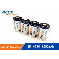 Cheap smart electric meter battery ER14250H 3.6V 1200mAh for sale