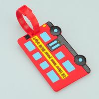 Quality 3D car Soft Pvc Luggage tag wholesale