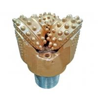 Tricone Shape Downhole Drilling Tools API Standard Roller Rock Bit Carbon Steel for sale