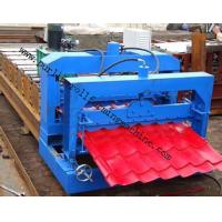 Quality Metal Roof Forming Machine Glazed Tile Cold Forming Machin Color Steel Glazed Roofing Tile Making Machine wholesale