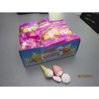 Quality Four In One Ice Cream , Bun , Strawberry Shaped Sweet Marshmallow Candy For Christmas wholesale