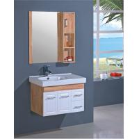 Quality Furniture style bathroom vanities 800 * 460mm , 2 doors 2 drawers bathroom wall hanging cabinets wholesale