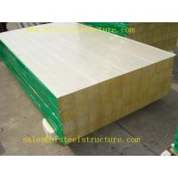 Quality Insulated Refrigerated Polyurethane Foam Sandwich Panel For Prefabricated House wholesale