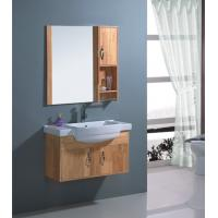 Quality Solid wood Material porcelain bathroom vanity ,  80 X 46 / cm Size ceramic top vanity wholesale