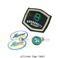 Quality Pvc rubber 3d patches metal patch 5 panel hat snapback custom patch for handbags wholesale