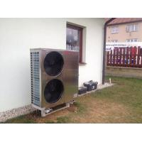 Quality Air Source Chiller Air To Water Heat Pump , EVI Air Source Heat Pump 18kw WIFI Control wholesale