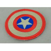 China Custom Embroidery Fabric Iron Monkey Look Patch for Garment Washable on sale