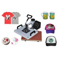 Quality 8 In 1 T-Shirt / Mug / Plate Sublimation Printing Machine for DIY Printing Heat Press Transfer Machine wholesale