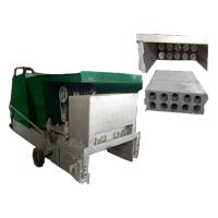 China lightweight green building precast concrete wall panel extruding machine on sale