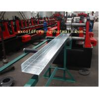 Quality Custom Made C / Z Shape Automatic Changable Purlin Roll Forming Machine Hydraulic Punching Hole wholesale