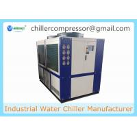 Quality 109kw 30 Ton Air Cooled Scroll type Refrigeration Water Chiller with Internal Tank and Water Pump wholesale
