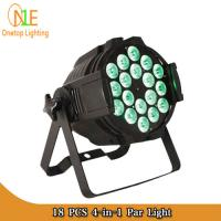 Quality New 18pcs 12w RGBW 4 in 1 par led stage light DMX 4/8CH indoor light wholesale