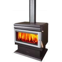 Quality Durable Indoor Wood Stove Freestanding With Room Fan 10 Years Warranty wholesale