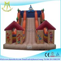 China Hansel guangzhou inflatable slide ,big inflatable slides ,bouncy castle for sale on sale
