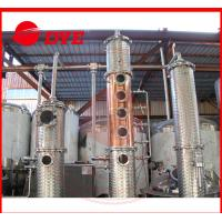 Quality Micro Red Copper Wine / Vodka Distillery Equipment Commercial Customized wholesale