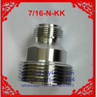 Buy cheap DIN 7/16 adaptor All brass DIN 7/16 female to N female adaptor from wholesalers