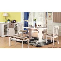 Quality White Color Contemporary Dining Room Furniture Modern Kitchen Dining Tables wholesale