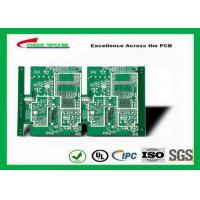 Quality GPS Printed Circuit board  8layer FR4TG150 1.6MM Immersion Gold green solder mask wholesale