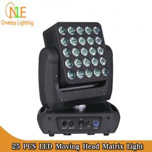 Quality Osram LED stage light 25x15w rgbw 4 in 1 beam wash matrix led moving head light wholesale