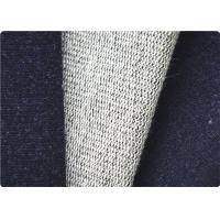 Quality Comfortable Knitted Denim Fabric , Curtain / Bag / Dress Jeans Fabric wholesale
