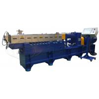 China CaCO3 high filler PE PP Master Batch Twin Screw Extrusion Machine on sale