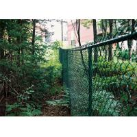 Quality High Security PVC Coated Galvanized Chain Link Fence wholesale