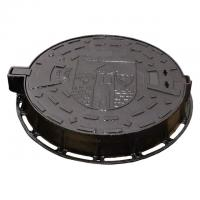 China High Strength Cast Ductile Iron Sewer Manhole Cover With Frame Double Seal on sale