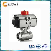 Quality 2PC female thread stainless steel pneumatic ball valve wholesale