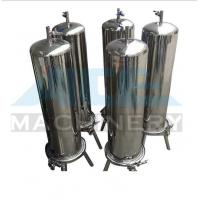 Cheap Stainless Steel Multiple Bag Cartridge Filter For Ultra Purification Bags Water for sale