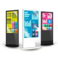 Buy cheap Portable Floor Stand LCD Digital Signage Fhd Kiosk 43 49 55 65 Inch For from wholesalers