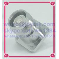 Buy cheap 4.3-10 connector female solder type with flange square All brass made  VSWR 1.15 50ohm PTFE dielectric silver plated pin from wholesalers