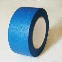 China High Performance Crepe Paper Blue Masking Tape For Humid Wall And Floor on sale