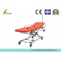 Cheap First Aid Stretcher Aluminum Alloy Ambulance Stretcher Trolley Adjustable Stretcher ALS-S010 for sale