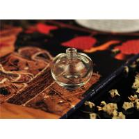 Quality Art Deco Glass Perfume Bottles With Stoppers , Mini 5ml Perfume Bottles wholesale