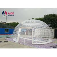 Quality 6m diameter Inflatable Event Tent Ventilation Inflatable dome Double Layer Tent Amazon wholesale
