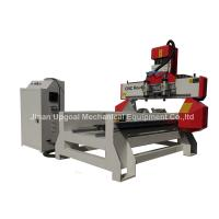Quality 500*1000mm Flat Cylinder CNC Carving Machine with 2 Spindles 2 Rotary Axis wholesale