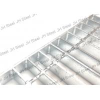 Durable Serrated Galvanized Steel Grating Anti Rust For Industrial Buildings