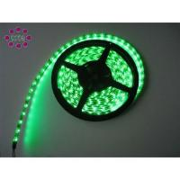 Quality Coppered PCB DC12 / 24V 3528 SMD Green Flexible LED Strip Lights For Bars Lighting wholesale