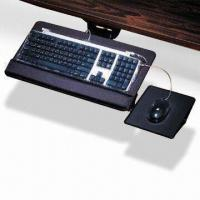 Quality Ergonomic Keyboard Tray with Mouse Pad and Tilting Adjustment, Drawer Design to Save Space wholesale