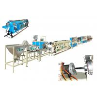 Quality Round Drip Irrigation Pipe Production Line / extrusion machinery High Accuracy wholesale