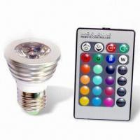 Quality LED Full Color Remote Control Light with 100 to 240V AC Power Supply wholesale