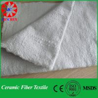 China 1260 Ceramic Fiber Cloth With Stainless Steel on sale