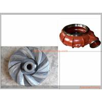 Quality Metallurgy Mining Slurry Pump Spare Parts Corrosion Resistance Various Materials wholesale