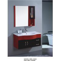 Quality wall cabinet / PVC bathroom vanity / hanging cabinet / red color sanitary ware 100 X47/cm wholesale