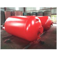 Quality Portable Compressed Air Receiver Tank Vertical / Horizontal Type Large Volume wholesale