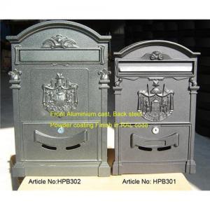Quality Antique mailbox Aluminum casting wholesale