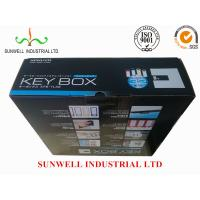 Quality Multi Color Custom Printed Corrugated Boxes , Glossy Finish Recycled Packaging Boxes wholesale