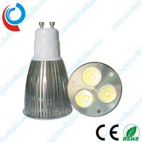 Quality Cool White 3 X 2W 6 Watt GU10 / E27 Cree, Epistar, Edison Dimmable LED Light Bulbs wholesale